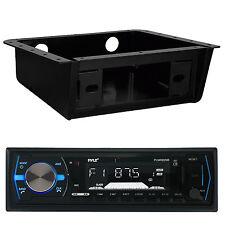 Pyle PLMRB29B Bluetooth MP3 USB AUX SD Receiver Player, Underdash Stereo Housing