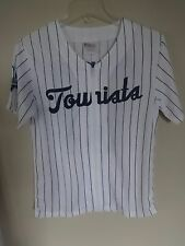 100th Anniversary 1961 MiLb Asheville Tourists Sga Zipped Front Jersey Youth L