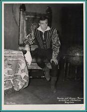 GIACOMO ARAGALL - Spanish  Tenor as Duke in Verdi's Rigoletto - Original Photo