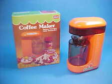 VINTAGE COFFEE MAKER B/O REAL WORKS! LITTLE HOUSEWIFE's BOXED Maxwell #1727