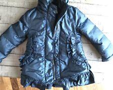 Lemon Loves Lime Girl Puffer Coat Jacket Down Feather Ruffle size 2 Avlbl Twins?