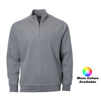 New Greg Norman Contemporary 1/4 Zip Mock Pullover - Pick Color & Size
