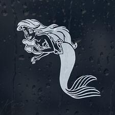 Cartoon Princess Ariel Mermaid Car Decal Vinyl Sticker For Wall Window Bumper