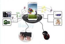 Micro USB OTG Docking Station Charger Cradle SD TF HUB for Samsung Galaxy S4 S3