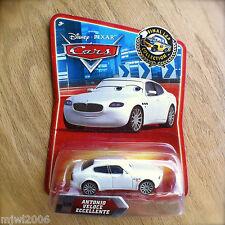 Disney PIXAR Cars ANTONIO VELOCE ECCELLENTE Final Lap series diecast #138 RARE