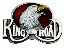 Truck Belt Buckle King Of The Road Lorry Trucker Eagle Authentic Dragon Designs