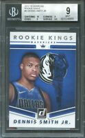 2017-18 donruss rookie kings #9 DENNIS SMITH JR rookie card BGS 9 (10 9 9 9.5)