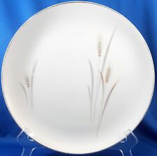 "Max Schonfeld Fine China of Japan Platinum Wheat Dinner Plate 10-3/8"""