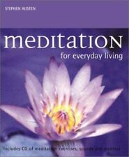 Meditation for Everyday Living: With Audio Compact Disc-ExLibrary