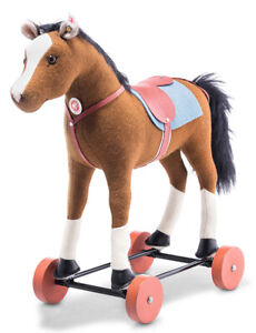 Steiff Friedhelm's Horse on Wheels - limited edition collectable - 006838