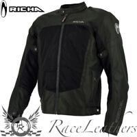 Richa Airbender Negro ventilación Clima Cálido Verano Chaqueta moto motocicleta