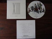 CD MUSIQUE FINAL FANTASY XIII  -- ORIGINAL SOUND SELECTION   10 TITRES