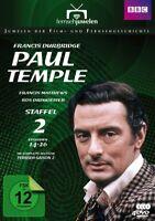 FRANCIS DURBRIDGE: PAUL TEMPLE -STAFFEL 2 DURBRIDGE,FRANCIS  4 DVD NEU
