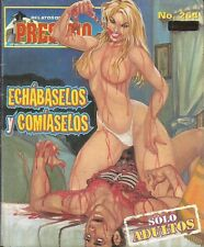 RELATOS DE PRESIDIO MEXICAN COMIC #264 MEXICO SPANISH HISTORIETA 1999 CRIME