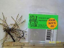 Poor Boy's Jig weedless 1/8oz