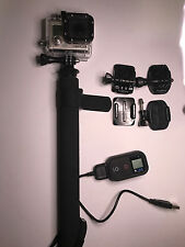 GoPro HERO3  Black Edition Camcorder -  Black WITH Accessories