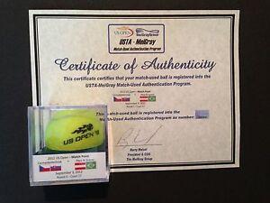 Peya/Soares vs. Cermak/Mertinak US Open MATCH POINT Used Tennis Ball - MEIGRAY