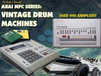 Vintage Drum Machines  - Akai MPC2000 XL - MPC3000 Format - 10x Floppy Disks