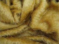 Mohair fur Fabric - Schulte 21mm Flat Laid Straight Pile - Mohair bears - OOAK
