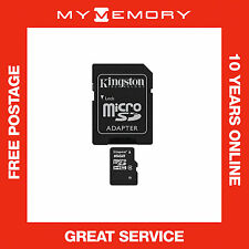 Kingston 16GB Micro SD SDHC TF Memory Card For Samsung  Class 4 SD Adaptor