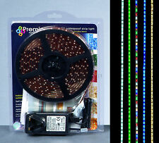 5m 300 Xmas Bright White LED Christmas Strip Lights Festive Indoor Outdoor Light