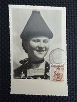 AUSTRIA MK 1950 TRACHTEN COSTUMES MAXIMUMKARTE CARTE MAXIMUM CARD MC CM c3588