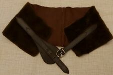 Genuine Burberry Sheepskin Leather Belt small