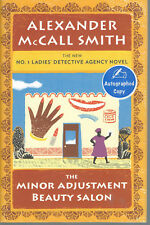 The Minor Adjustment Beauty Salon/Alexander McCall Smith signed hardback 1st. ed