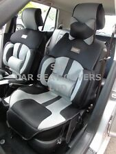 i - TO FIT A TOYOTA HILUX, CAR SEAT COVERS, BO-1 GREY RECARO MESH