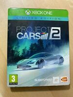 PROJECT CARS 2 Limited Edition XBOX ONE STEELBOOK NO GAME
