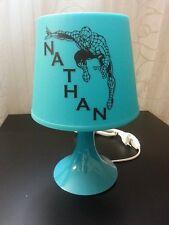 Jolie lampe de chevet spiderman enfant personnalisée beau cadeau anniversaire