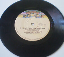 """THE CAPTAIN & TENNILLE 7""""45 """"DO THAT TO ME ONE MORE TIME / DEEP IN THE DARK""""- OZ"""