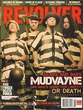 Revolver January 2009 Mudvayne, Children of Bodom, Bleeding Through 102916DBE