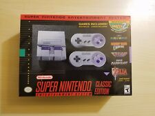 SNES Classic Mini Edition - Super Nintendo Entertainment System - Fast Shipping!