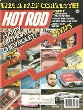 January 1987 Hot Rod 75 Years Chevrolet IROC-Z 350 Woodie Jerry Brassfield's '56