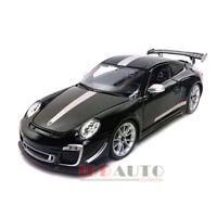 BBURAGO PORSCHE 911 GT3 RS 4.0 BLACK 1/18 DIECAST MODEL CAR 11036