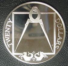 ILES VIERGES BRITANNIQUES - 20 DOLLARS 1985 - Argent - N°6