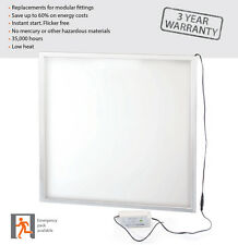 600 x 600 40w Office Ceiling LED Panel With Driver 6000k Daylight - 3000 Lumen