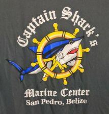 Blue Generation Captain Sharks San Pedro Long Sleeve Large Shirt 100% Polyester