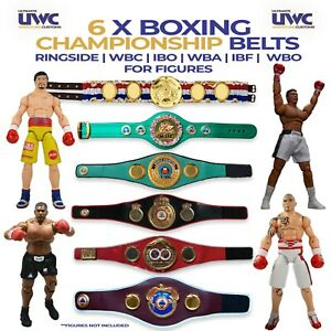 RINGSIDE Custom WBC WBO WBA IBF IBO Mini Boxing Belts For Figures