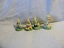 Bunnies Miniature Set Of Four