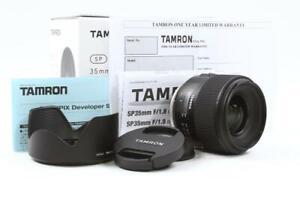 Refurbished Tamron SP 35mm F/1.8 Di VC USD Lens w/ Hood (Nikon Mount)