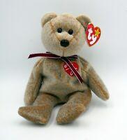 1999 SIGNATURE BEAR - Ty Beanie Baby RARE MINT ORIGINAL Retired w/ ERRORS