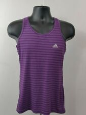 Adidas Womens Mens Tank Top Size Small Ultimate Training Tee  Purple Size S