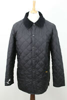 BARBOUR Black Quilted Jacket size S BM