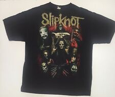 Vintage 00s Slipknot Band Tour T-shirt AAA Tag Mens XL Double Sided Compass