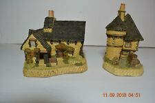 Two David Winter Scottish Collection Cottages Gatekeepers & The Gillies Cottage