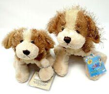 2 Set Webkinz Cocker Spaniel Dog Hm011 + Lil'Kinz Puppy Hs011 Plush ~ Open Codes