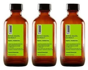 WITCH HAZEL EXTRACT 100% ORGANIC ALCOHOL FREE Natural Astringent