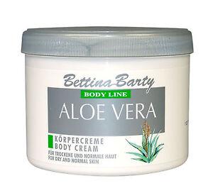 Bettina Barty Aloe Vera Body Cream 500ml OVP